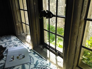 Chawton House window seat