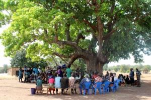 kyläkokous Faalussa 2013