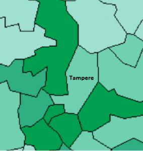 Tampereen seutu tarkemmin