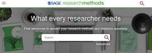 Tietokannan hakulaatikko - What every researcher needs - search field