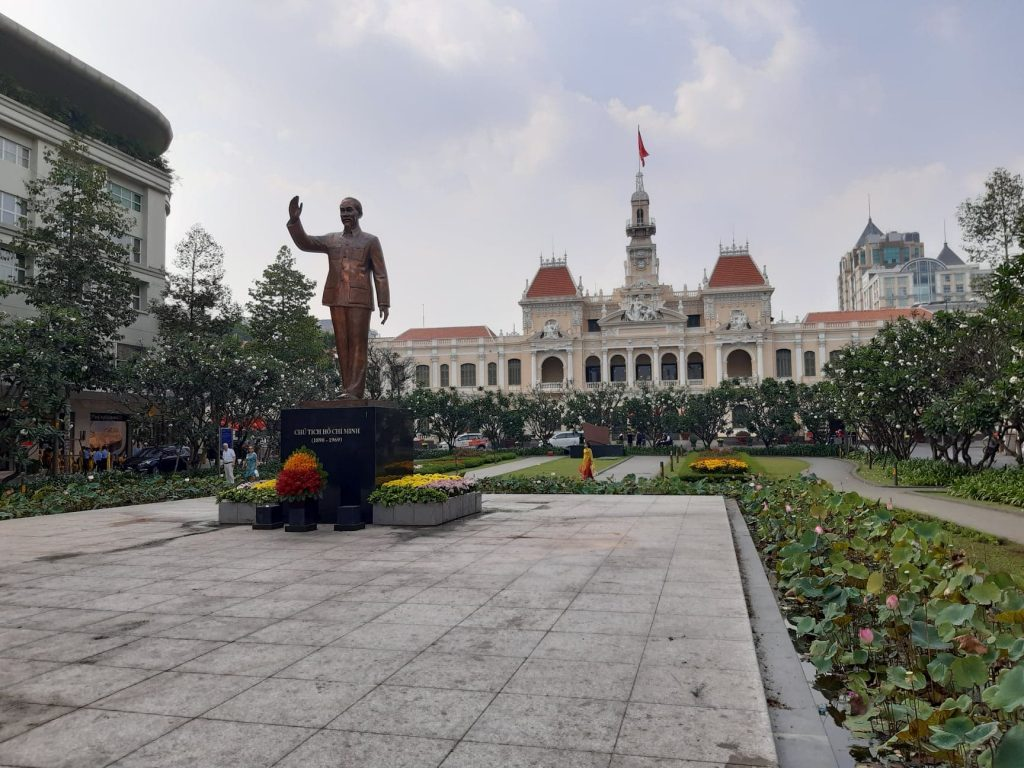 Ho Chi Minhin tervehdys
