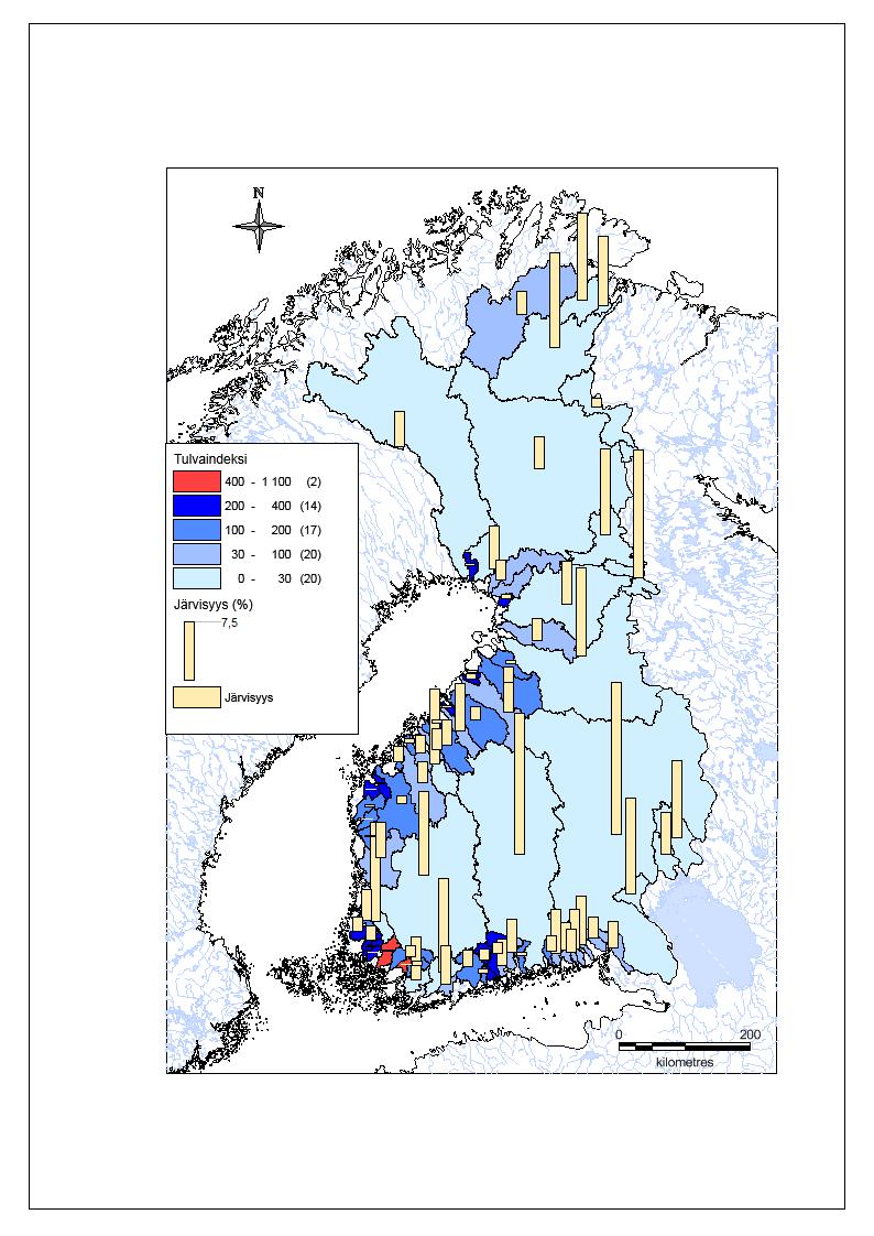 Tulvaindeksikartta