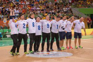 Maalipallo_Rion Paralympialaiset_Kiina-Suomi, tulos 7-11