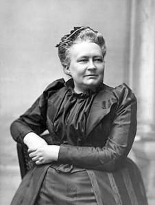 Kuva: V. Barsokevitsch Kirjailija Minna Canth 50-vuotispäivänään 1894. B 101