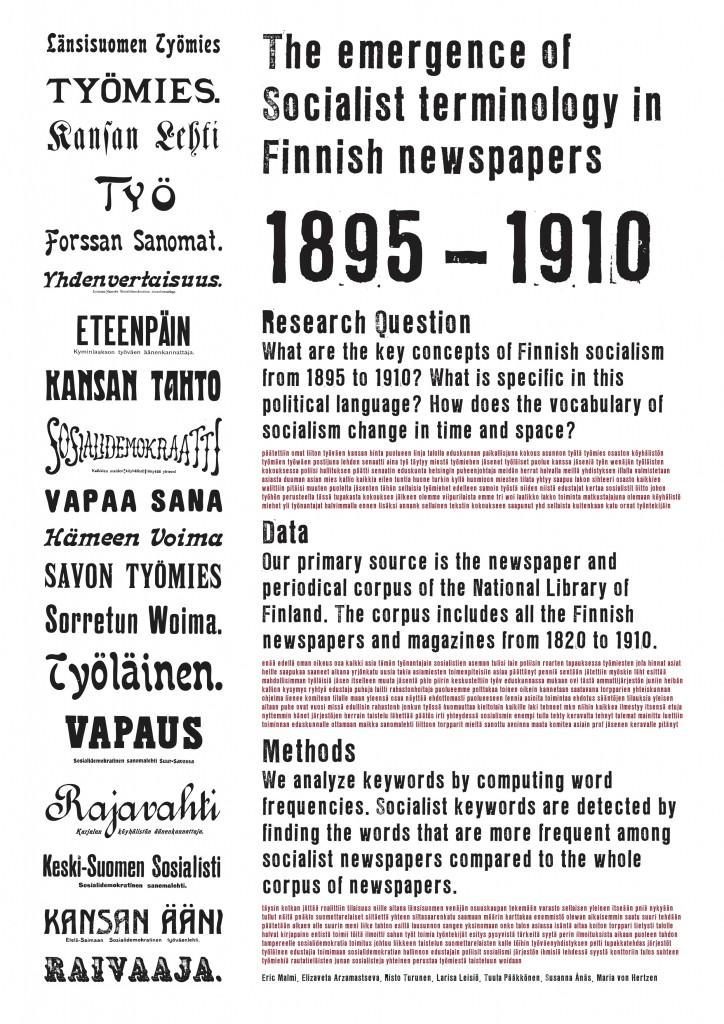 Finnish Newspapers poster presentation