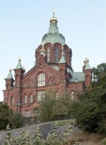 Uspenski Cathedral. Photo: Katja Hagelstam (Helsingin ortodoksinen seurakunta)