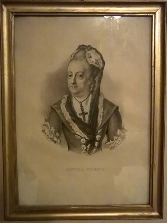 Kuningatar Lovisa Ulrika, jonka mukaan kaupunki sai nimensä.