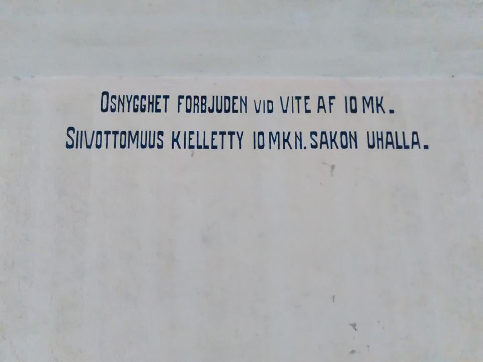 Loviisa_Siivottomuus_kielletty