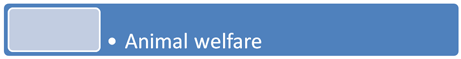 *  Animal Welfare