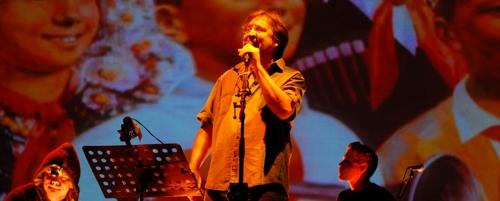 Venäläinen rocklegenda Juri Ševtšuk. Kuva: DDT