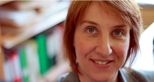 Englantilaisen filologian professori Minna Palander-Collin