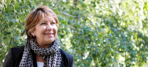 Nicoletta Maraschio Helsingissä. Kuva: Ville Korhonen