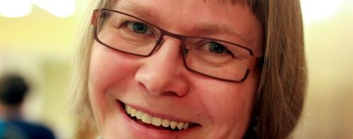 Tarja Heinonen. Kuva: Nykykielten laitos
