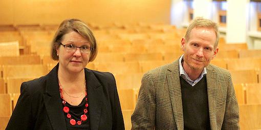 Mari Pakkala-Weckström ja Joseph Flanagan