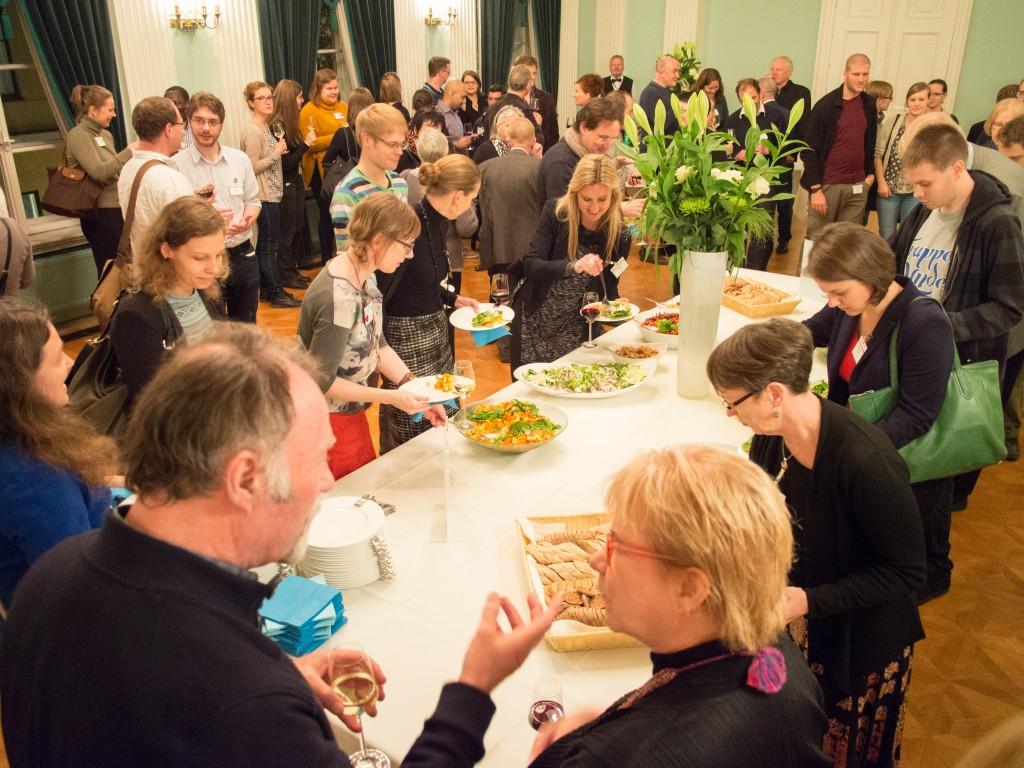 City of Helsinki reception. Photo by Tanja Säily.