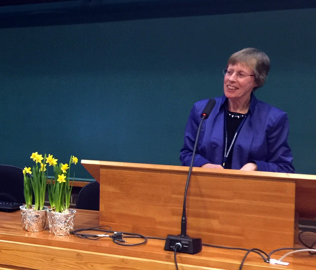 It was an honour to have Dr. Marijke van der Wal open the HiSoN Conference 2016 in Helsinki.