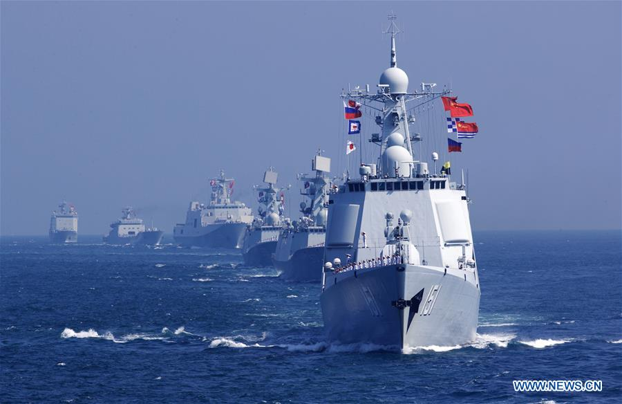 China Naval drills