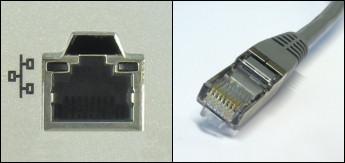 Ethernet- eli verkkoliitäntä ja liitin