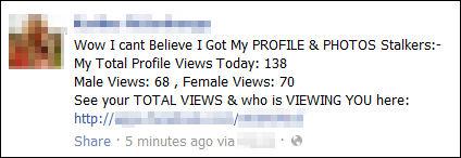 facebook-sovellus joka väittää kertovansa uteliaalle kiinnostavia asioita onkin huijaus