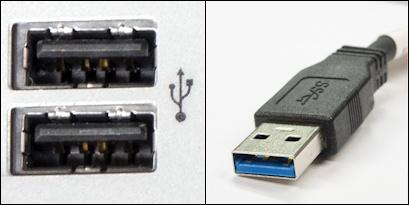 USB-liitäntä ja -liitin