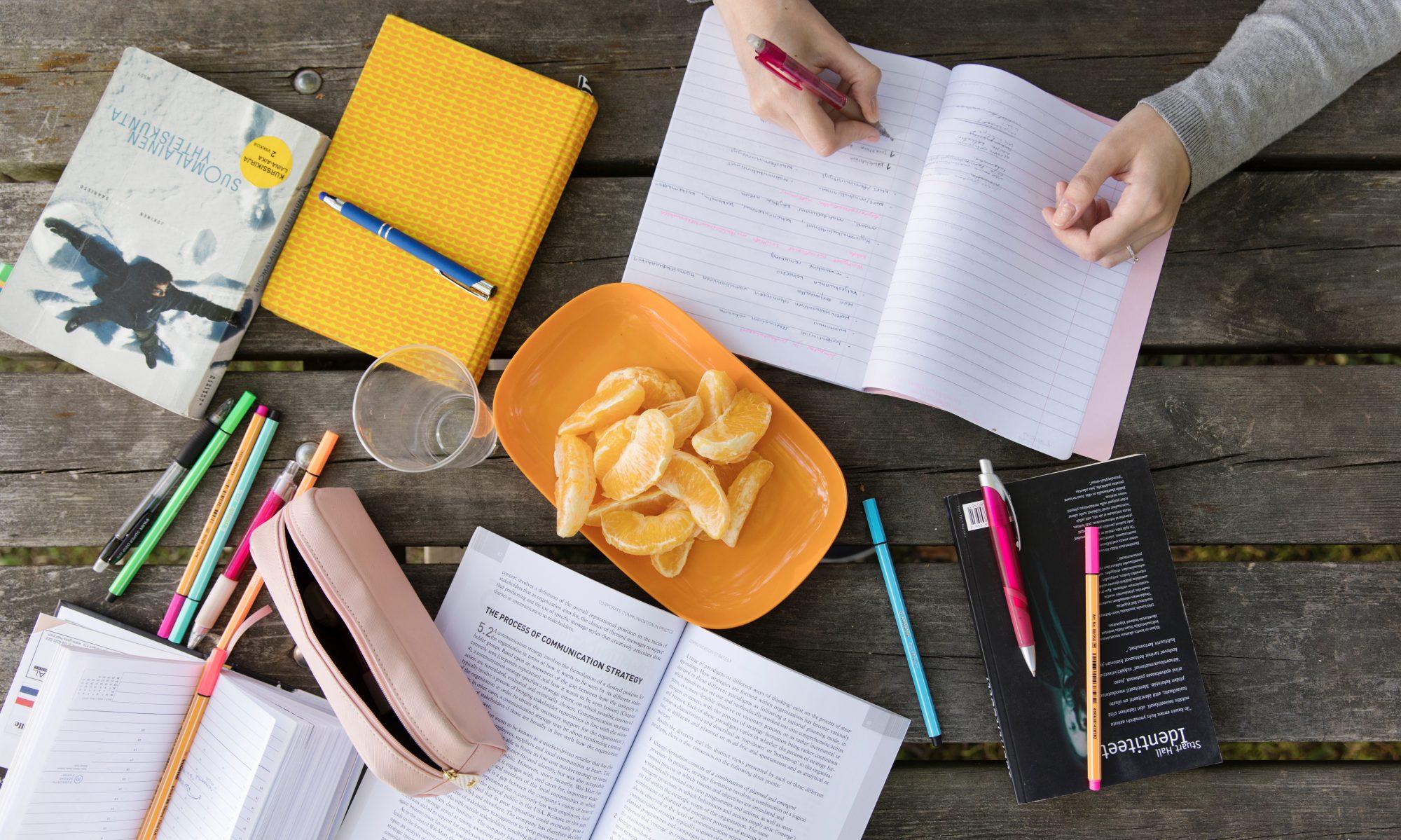 Elämää ja opintoja