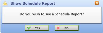show scedule report