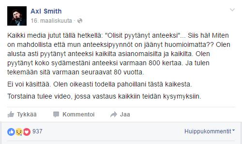 Lähde: Facebook