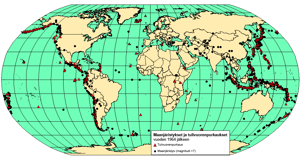 tulivuori-maanjäristys