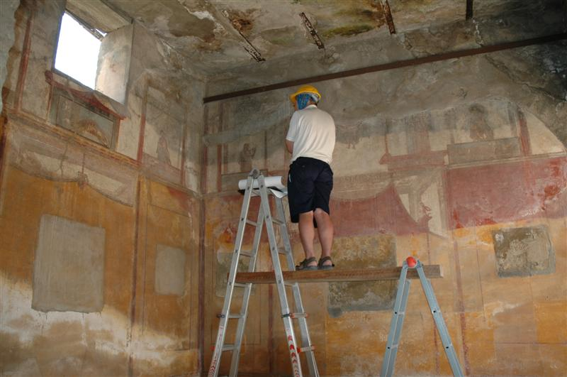 Wall Painting Documentation  Expeditio Pompeiana -8707