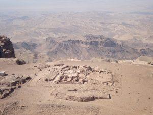 excavations petra wadi