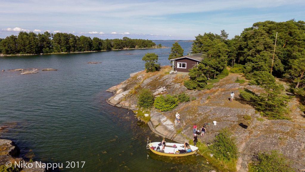 Furuskär island just outside the station.