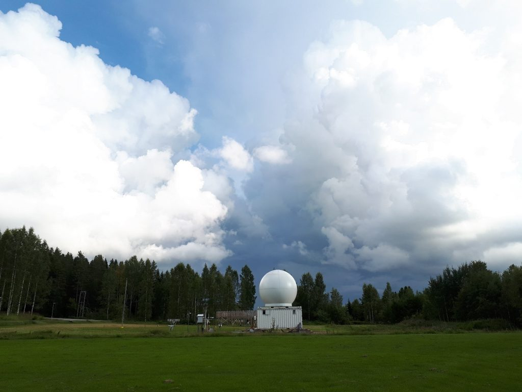 Finnish Meteorological Institute radar