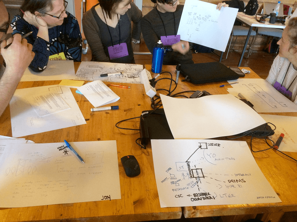 """Little data, big data, no data"" –workshop (photo: Andrea Botero)."