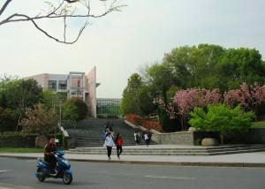 Kuva 1. Zhejiang A & F -yliopiston kampus