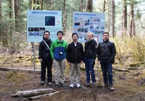 Kuva 3. Japanilas-kiinalais-suomalainen tutkijaseurue (Wanglang, Sichuan)