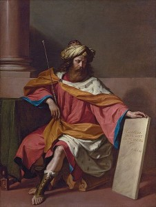 Guercino: Kind David