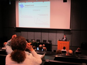 Presentation by Rick Bonnie. (Photo: Pekka Lindqvist)