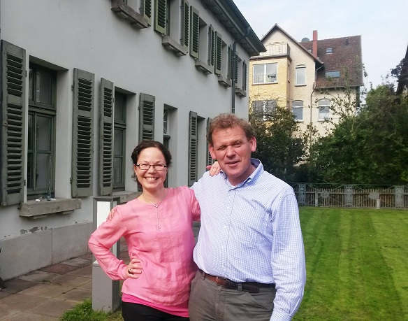 The workshop took place in the Historic Observatory just outside the old town of Göttingen. Among others, Dr. Hanne von Weissenberg (Helsinki) and Prof. Eibert Tigchelaar (KU Leuven) enjoyed the warm fall weather.