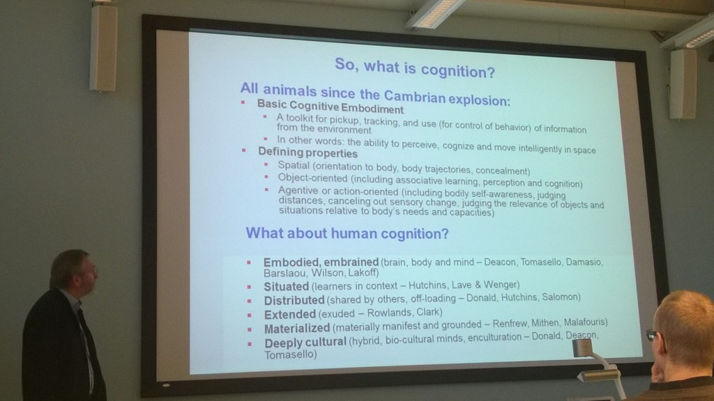 What Have Biblical Studies to Do with Cognitive Science