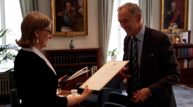 Anneli Aejmelaeus Receives Medal of Honour