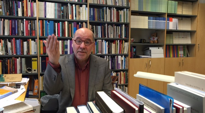 "Professor Martti Nissinen: ""Biblical interpretation is always political"""