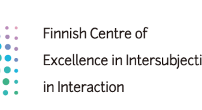 "Helsinki Lectures on Intersubjectivity: ""Social sciences meet biblical studies"""