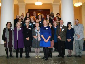 Group photo of participants in the first meeting in Helsinki, 2014.