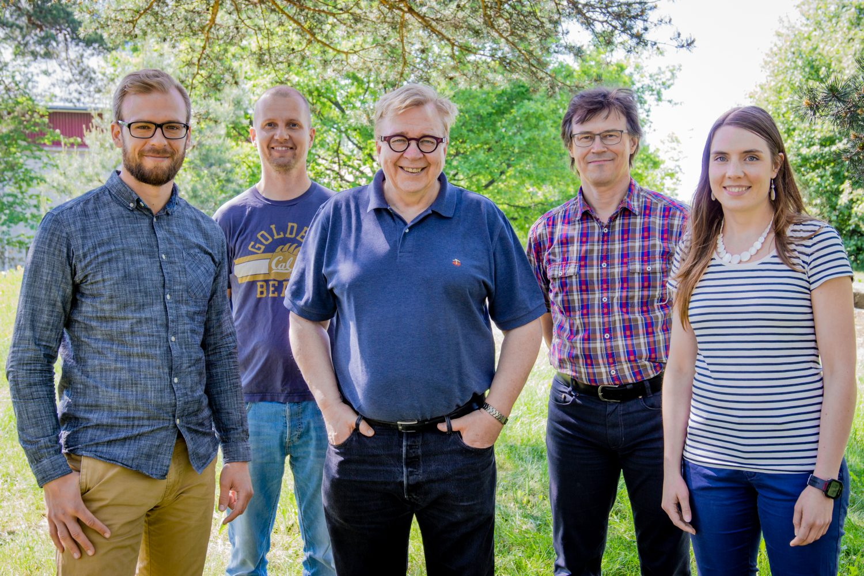 Samuli Puroila (HY), Antti Iho (Luke), Markku Ollikainen (HY), Petri Ekholm (SYKE), Eliisa Punttila (HY)