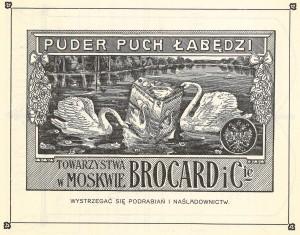 Belle Époque huipussaan - mainos vuodelta 1912.