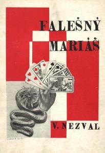 Nezvalin Falešný mariáš -runoteos (1925)
