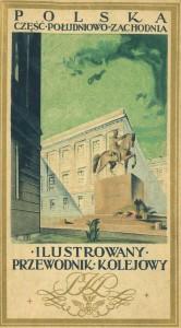 Rautatieopas Lounais-Puolaan (1926).
