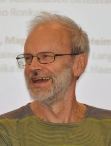 Heikki Kaukoranta Helsingin Sarjakuvafestivaaleilla, 2011. Kuvaaja: Soppakanuuna, Wikimedia Commons