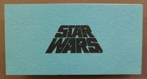 Tähtien sota -elokuvan kutsulippu vuodelta 1977