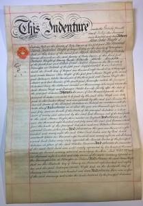 Oskar E. Tudeerin sopimusasiakirja